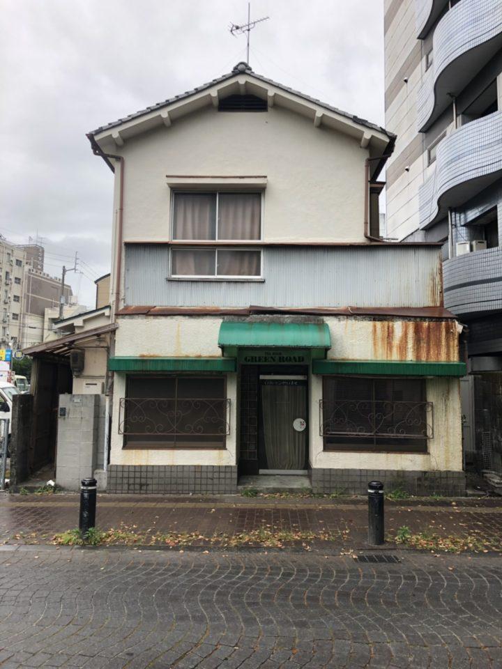 モルタル造形 レンガ 施工前 外壁リノベ専門店 高知 SJP