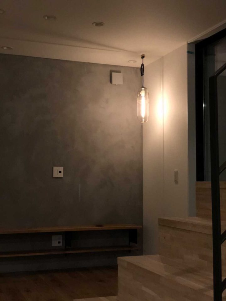 SANDECO 特殊塗料 高知 SJP テクスチャーペイント アクセント壁